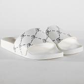 /achat-claquettes-sandales/final-club-claquettes-allover-logo-215-blanc-176803.html