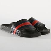 /achat-claquettes-sandales/lbo-claquettes-683-noir-tricolore-bleu-marine-rouge-176814.html