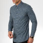 /achat-chemises-manches-longues/mtx-chemise-manches-longues-s7187-bleu-marine-floral-176832.html