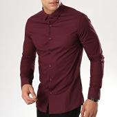 /achat-chemises-manches-longues/mtx-chemise-manches-longues-s7129-bordeaux-176839.html