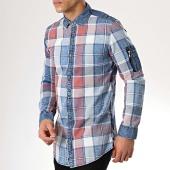 /achat-chemises-manches-longues/mtx-chemise-manches-longues-poche-bomber-99086-bleu-clair-rouge-176845.html
