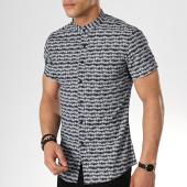 /achat-chemises-manches-courtes/mtx-chemise-manches-courtes-col-mao-dx2013-bleu-marine-176847.html