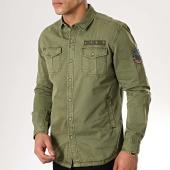 /achat-chemises-manches-longues/mtx-chemise-manches-longues-99090-vert-kaki-176848.html