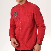 /achat-chemises-manches-longues/mtx-chemise-manches-longues-patchs-brodes-99091-rouge-176851.html