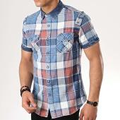 /achat-chemises-manches-courtes/mtx-chemise-manches-courtes-99095-carreaux-bleu-clair-rouge-176862.html