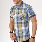 /achat-chemises-manches-courtes/mtx-chemise-manches-courtes-99095-bleu-clair-vert-176865.html