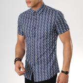 /achat-chemises-manches-courtes/mtx-chemise-manches-courtes-dx2097-bleu-marine-floral-176868.html