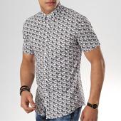 /achat-chemises-manches-courtes/mtx-chemise-manches-courtes-dx2097-blanc-floral-176872.html