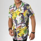 /achat-chemises-manches-courtes/mtx-chemise-manches-courtes-321-blanc-gris-jaune-floral-176889.html