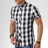 /achat-chemises-manches-courtes/mtx-chemise-manches-courtes-dx2095-carreaux-noir-blanc-176899.html