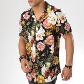 /achat-chemises-manches-courtes/mtx-chemise-manches-courtes-319-noir-floral-176923.html