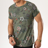 /achat-t-shirts/mtx-tee-shirt-zt5005-vert-kaki-floral-176938.html