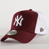 /achat-trucker/new-era-casquette-trucker-essential-a-frame-new-york-yankees-11560767-bordeaux-blanc-176820.html