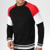 /achat-sweats-col-rond-crewneck/zayne-paris-sweat-crewneck-tx-236-noir-rouge-176892.html