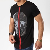 /achat-t-shirts-longs-oversize/classic-series-tee-shirt-oversize-9088-noir-177043.html