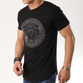 /achat-t-shirts-longs-oversize/classic-series-tee-shirt-oversize-90882-noir-argente-177048.html