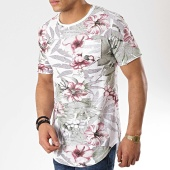 /achat-t-shirts-longs-oversize/classic-series-tee-shirt-poche-oversize-815616-blanc-floral-177050.html