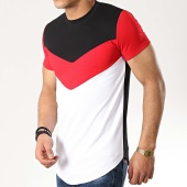 /achat-t-shirts-longs-oversize/classic-series-tee-shirt-oversize-9089-blanc-noir-rouge-177053.html