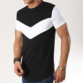 /achat-t-shirts-longs-oversize/classic-series-tee-shirt-oversize-9089-noir-blanc-177068.html