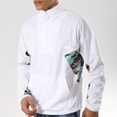 /achat-sweats-col-zippe/fila-sweat-col-zippe-rally-oil-684484-blanc-176982.html