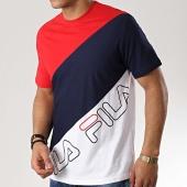 /achat-t-shirts/fila-tee-shirt-grove-684494-blanc-bleu-marine-rouge-176996.html