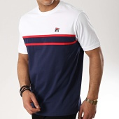 /achat-t-shirts/fila-tee-shirt-baldi-684524-bleu-marine-blanc-177008.html