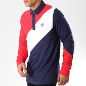 /achat-polos-manches-longues/fila-polo-manches-longues-mazen-684527-blanc-bleu-marine-rouge-177013.html