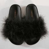 /achat-claquettes-sandales/girls-only-claquettes-femme-feather-l0132-noir-177051.html