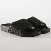 /achat-claquettes-sandales/girls-only-claquettes-femme-glitter-l0020-noir-177062.html