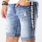 /achat-shorts-jean/mtx-short-jean-slim-a-bandes-e6838-bleu-denim-177026.html