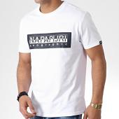 /achat-t-shirts/napapijri-tee-shirt-sele-n0yiei-blanc-177027.html