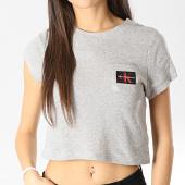 /achat-t-shirts-poche/calvin-klein-tee-shirt-poche-crop-femme-qs6252e-gris-chine-177295.html