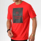 /achat-t-shirts/calvin-klein-tee-shirt-gms9k221-rouge-noir-177311.html
