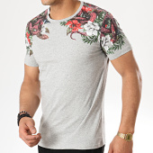 /achat-t-shirts/classic-series--tee-shirt-18121-gris-chine-floral-177187.html