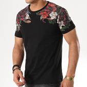 /achat-t-shirts/classic-series-tee-shirt-18121-noir-floral-177188.html