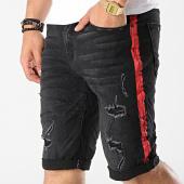/achat-shorts-jean/classic-series-short-jean-58039-noir-rouge-177253.html