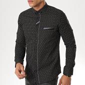 /achat-chemises-manches-longues/classic-series-chemise-manches-longues-3387-noir-gris-177301.html