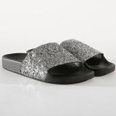 /achat-claquettes-sandales/girls-only-claquettes-femme-glitter-l0267-noir-argente-177184.html