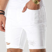 /achat-shorts-jean/gym-king-jean-skinny-rip-and-repair-blanc-177193.html