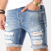 /achat-shorts-jean/gym-king-short-jean-skinny-rip-and-repair-bleu-denim-177195.html