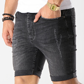 /achat-shorts-jean/gym-king-short-jean-skinny-distressed-noir-177196.html