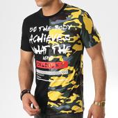 /achat-t-shirts/john-h-tee-shirt-1983-noir-jaune-camouflage-177313.html