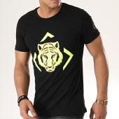 /achat-t-shirts/john-h-tee-shirt-m-27-noir-jaune-fluo-177333.html