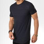 /achat-t-shirts-longs-oversize/uniplay-tee-shirt-oversize-uy371-bleu-marine-177259.html
