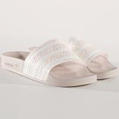 /achat-claquettes-sandales/adidas-claquettes-femme-adilette-g27232-ecru-beige-177621.html