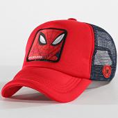 /achat-trucker/spider-man-casquette-truker-spider-man-4-rouge-bleu-marine-177506.html