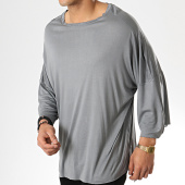 /achat-t-shirts-longs-oversize/classic-series-tee-shirt-oversize-190-gris-177397.html