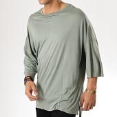 /achat-t-shirts-longs-oversize/classic-series-tee-shirt-oversize-190-vert-kaki-177400.html
