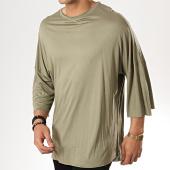 /achat-t-shirts-longs-oversize/classic-series-tee-shirt-oversize-190-vert-kaki-177410.html