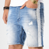 /achat-shorts-jean/classic-series-short-jean-slim-a-bandes-3261-bleu-denim-177445.html